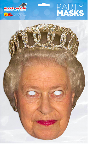 Queen for a day... Mask-Trade items will be among the portfolio for Rubies and Bristol Novelty.